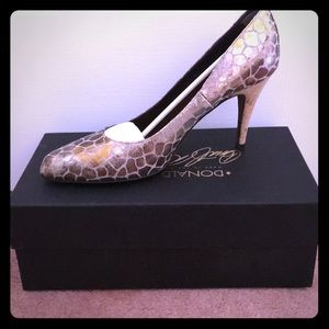 Donald J Pliner Shimmery Shoes